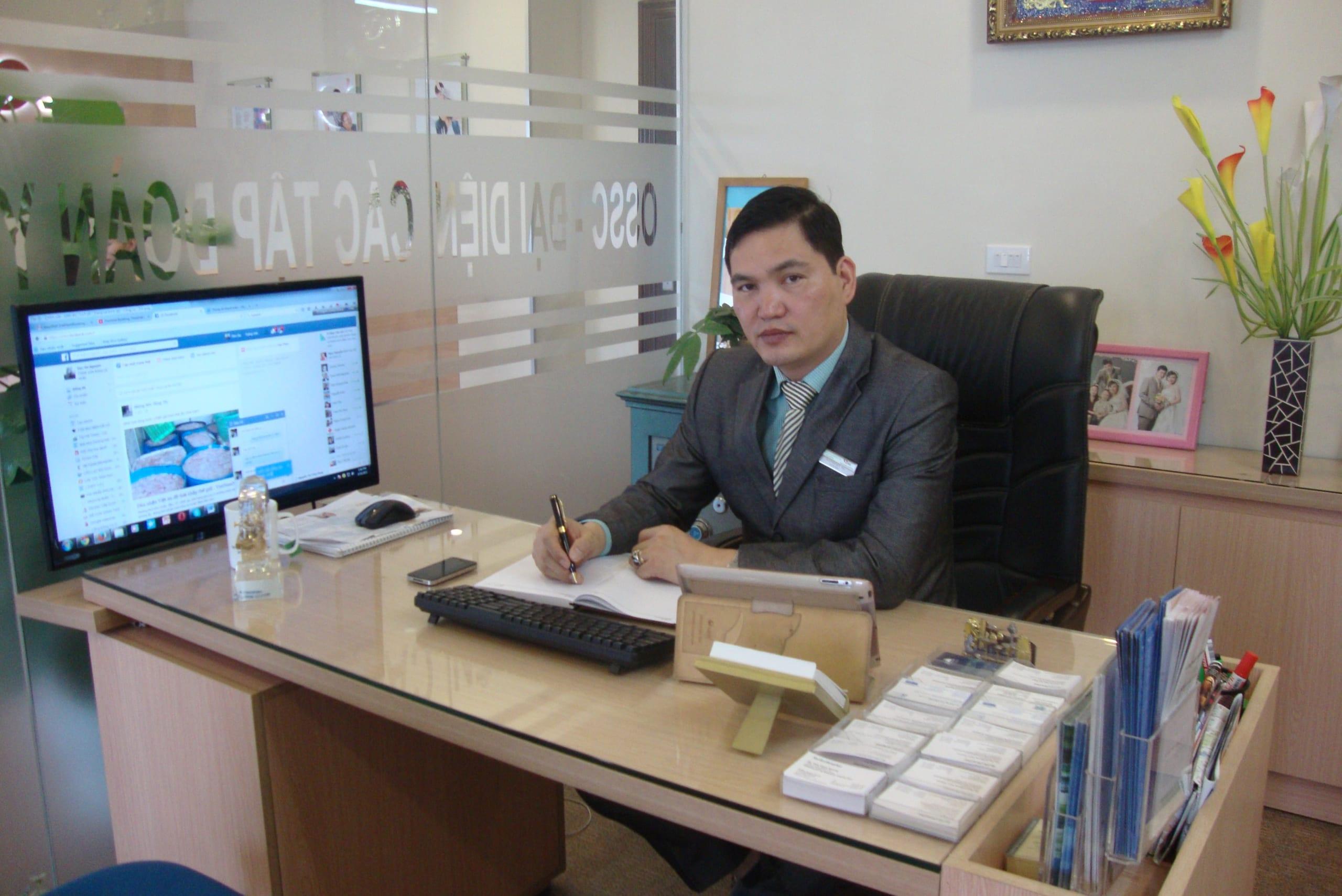 C.E.O – Ông Nguyễn Đức Hà