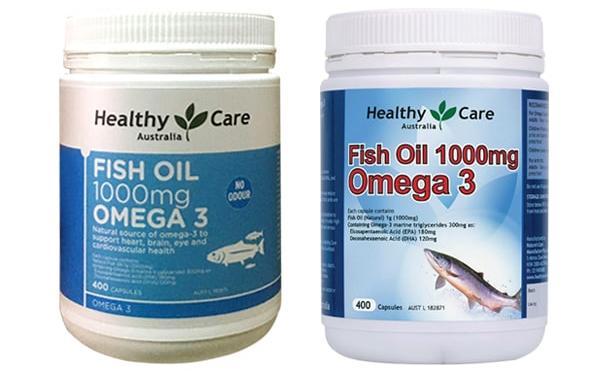 Dầu cá đại dương Ocean Health Omega 3 1000mg