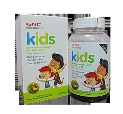 Kẹo dinh dưỡng Kids Gummy Multivitamin For Kids 2 -12
