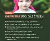 Điều trị ung thư máu ở trẻ em